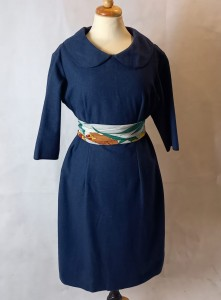 MadMen wool dress 60s